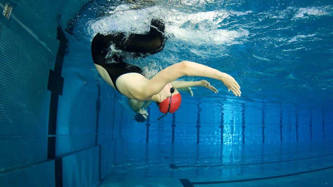 viraje en natacion