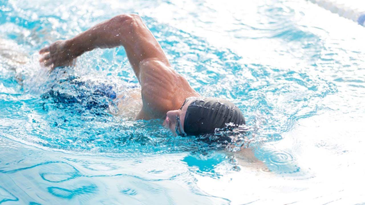 Agarre en natación